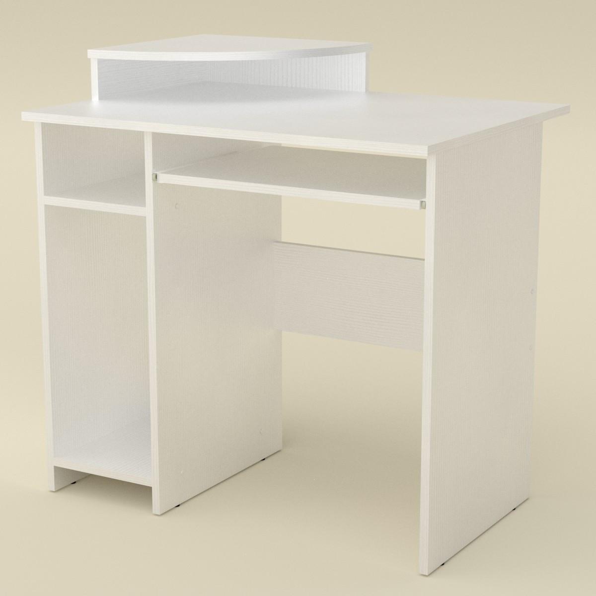 Стол компьютерный СКМ-1 альба Компанит