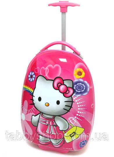 "Чемодан детский на 2 колесах ""Hello Kitty"" L 16"""