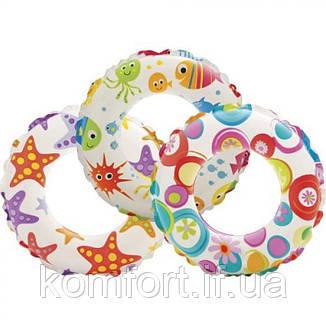 Круг надувной для плавания 51 см Intex 59230, фото 2