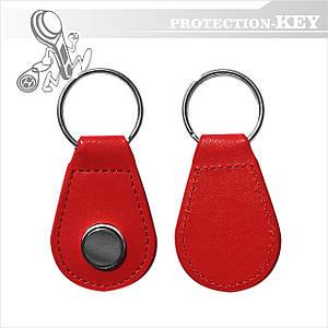 Ключ-заготовка RW 2004 Кожа для копирования домофонніх ключей (таблеток)