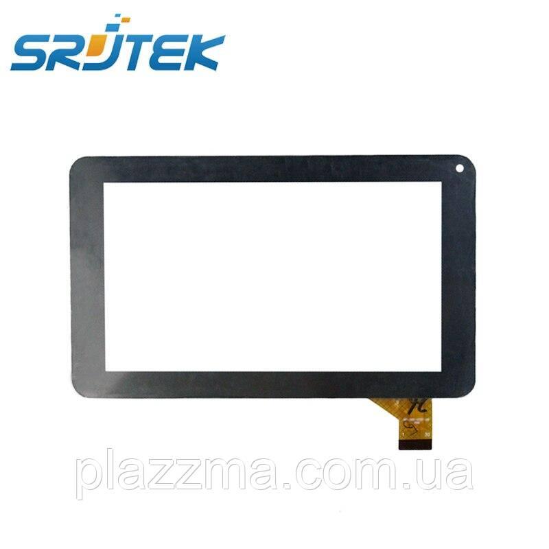 7 дюймов черный сенсорный панель 186*111 мм для MF-309-070F-G