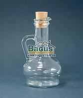 """Бутылка стеклянная 260мл с ручкой и крышкой для подсолнечного масла Pasabahce """"Olivia"""" 80109"""