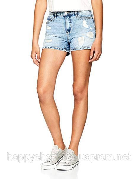 Женские стильные джинсовые рваные шорты ONLY