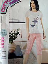 Пижама женская модная стильная размер M-2XL,купить оптом со склада 7км Одесса