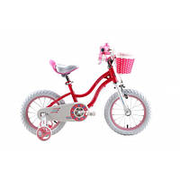 """Велосипед детский Royal Baby Stargirl 16"""" для девочки розовый"""