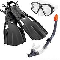 Набор для плавания 3-в-1 Intex: ласты, маска, трубка