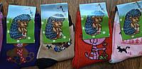 """Дитячі стрейчеві шкарпетки""""Їжачок""""1-3 роки, фото 1"""