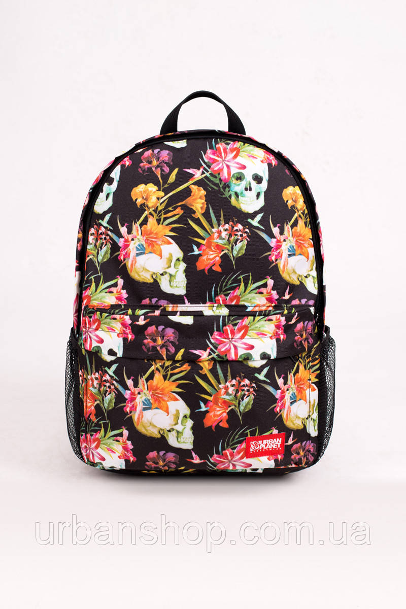 Рюкзак B10 SKOOLS'N'FLOWERS Urban Planet 25L 100% поліестер Multicolor UP 0-0-0-152-1