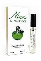 Женский мини-парфюм с феромонами Nina Ricci Plain (Нина Риччи Плейн),10 мл