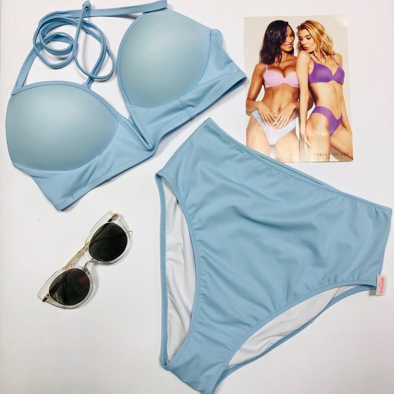 Victoria's Secret PINK Купальник с Высокими Плавками Виктория Сикрет