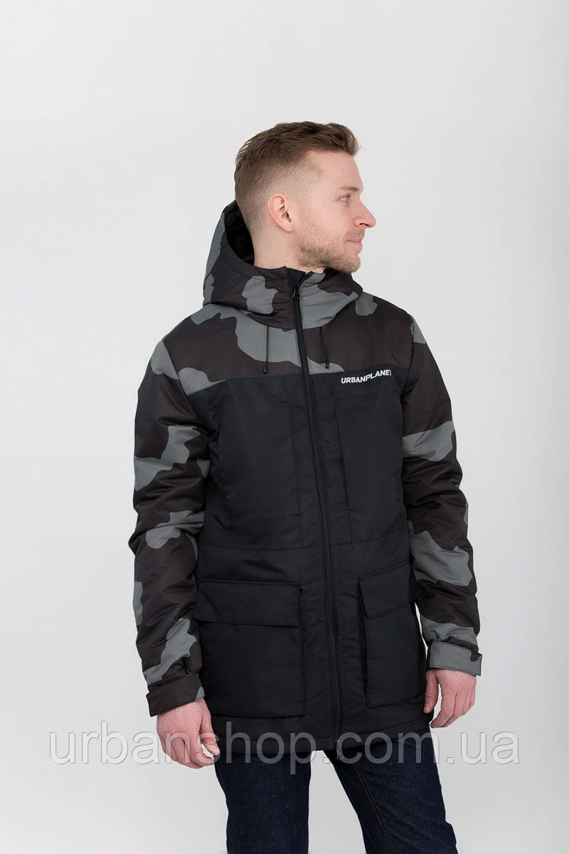 Парка А6 CAMO BLK Urban Planet XL 100% поліестер Multicolor UP 2-1-1-36
