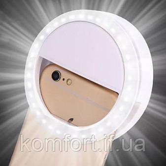 Селфи кольцо Selfie Ring Light RK12, фото 2