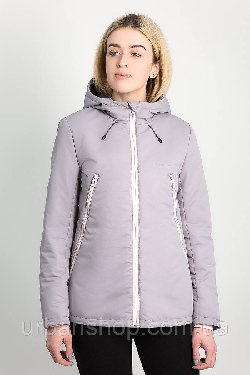 Куртка женская AW3 GREY Urban Planet M 100% поліестер Серый UP 2-1-2-11