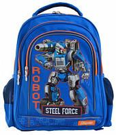 Рюкзак школьный S-22 Steel Force (12 л), 1 Вересня (556345)