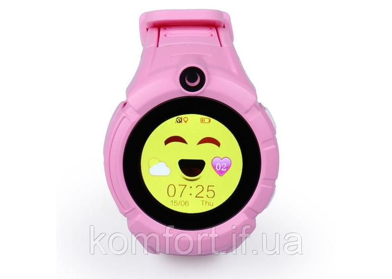 Смарт Часы детские Q610S Розовый