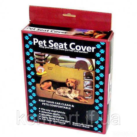 Накидка на заднее сиденье для животных Pet Seat Cover, фото 2