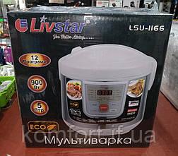 Мультиварка Livstar LSU-1166 12 программ, 5 л (900W) + пароварка, фото 2