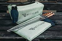 Чехол брезентовый на мангал разборной  (чемодан ) на 12 шампуров