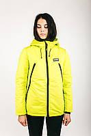 Куртка женская зимняя AW3 SAFETY Urban Planet XXL 100% поліестер Салатовый UP 2-1-2-08, фото 1