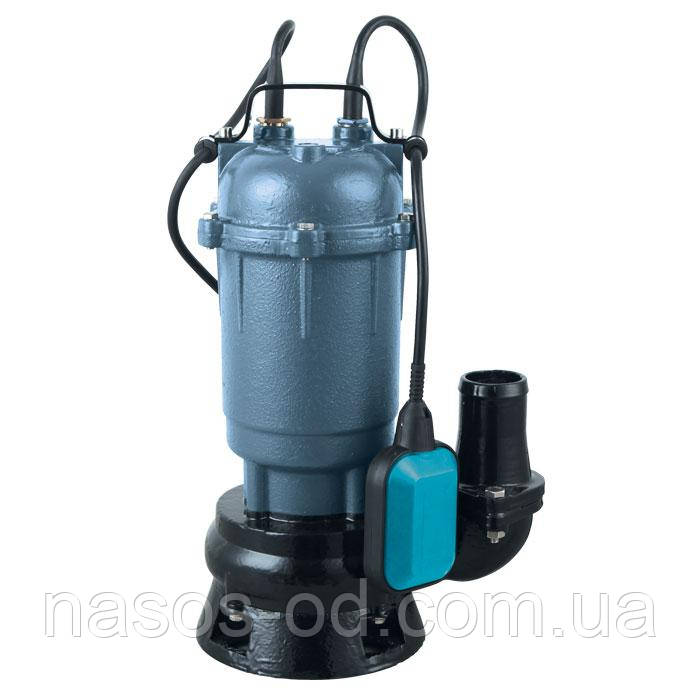 Дренажно-фекальный насос Насосы+Оборудование WQD 8-16-1.1  1.28кВт Hmaх18м Qmax310л/мин (без поплавка)