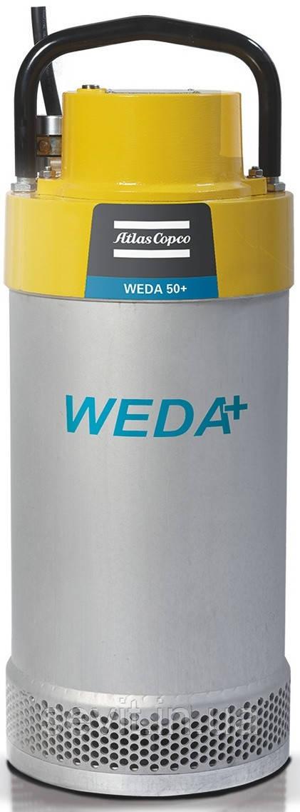 Заглибний дренажний насос Varisco (Італія) - Atlas Copco (Швеція) WEDA D 90H трифазний