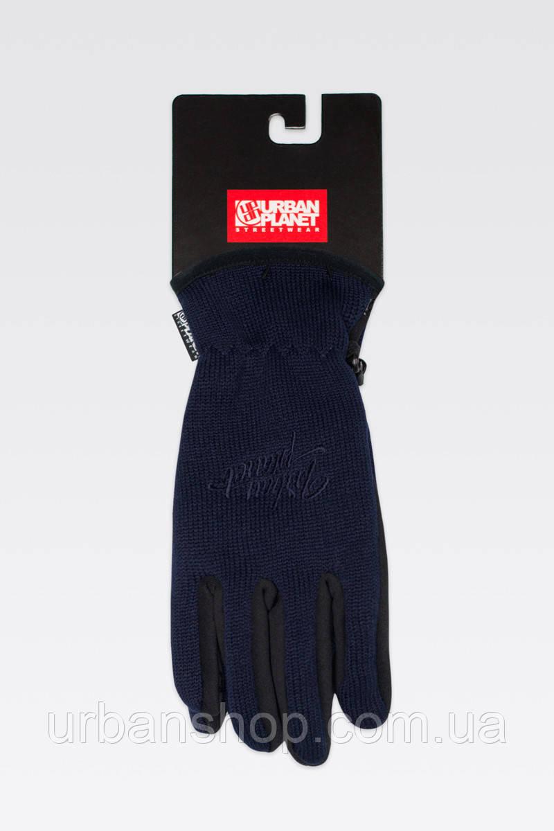 Перчатки KNITED NS Urban Planet M Темно-синий UP 0-0-0-1-7