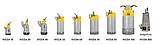 Заглибний дренажний насос Varisco (Італія) - Atlas Copco (Швеція) WEDA D 100N трифазний, фото 3