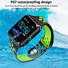 Умные часы Smart Watch ZGPAX S226 Gray ip67 пульсометр,шагомер,калории,артериальное давление, фото 3