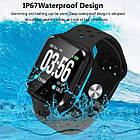 Умные часы Smart Watch ZGPAX S226 Gray ip67 пульсометр,шагомер,калории,артериальное давление, фото 9