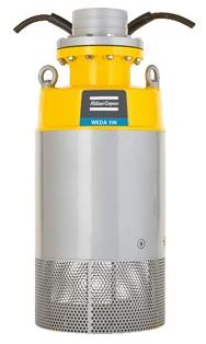 Заглибний дренажний насос Varisco (Італія) - Atlas Copco (Швеція) WEDA D 100N трифазний