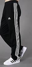 Штани чоловічі спортивні чорні. Штани трикотажні.Мод. 4024.