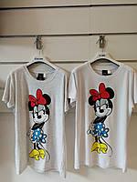 Женские футболки Minnie от Disney XS, S, M, L