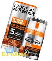 Крем L'Oréal Paris men expert Hydra Energy Feuchtigkeitspfle для мужчин (50мл) Франция