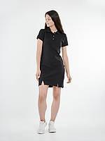 Платье поло BLK Urban Planet XS 100% котон Черный UP 1-1-1-2-02, фото 1