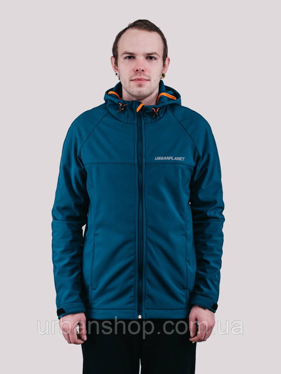 Куртка WM7 SOFTSHELL DEEP Urban Planet L 100% поліестер Deep UP 2-1-1-50