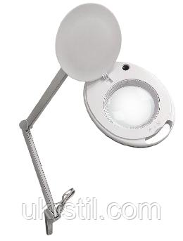 Лампа-лупа косметологическая 6027К-H LED Холодный свет 1-12W