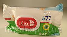 """Дезинфицирующие влажные салфетки  72шт Lili  с клапаном """"Алоэ"""" (1 пач)"""