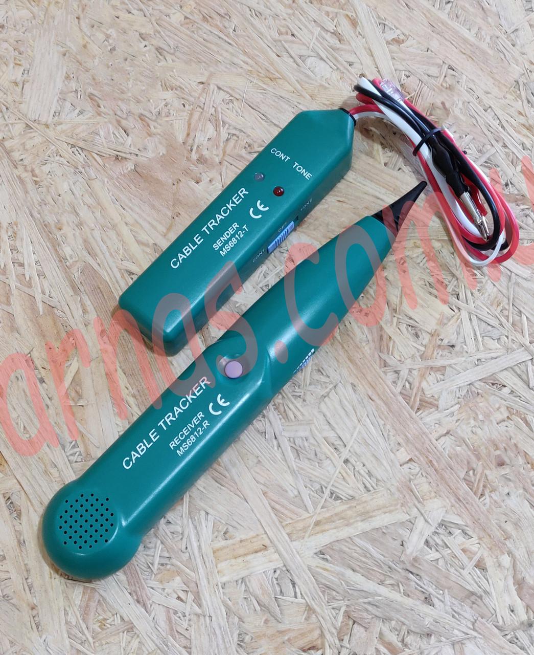 Детектор скрытой проводки MS6812-R