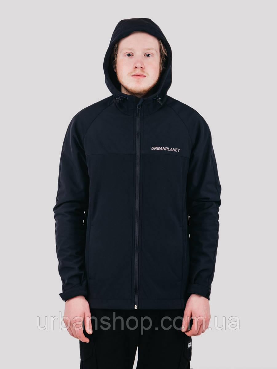 Куртка WM7 SOFTSHELL NVY Urban Planet XS 100% поліестер Темно-синий UP 2-1-1-46