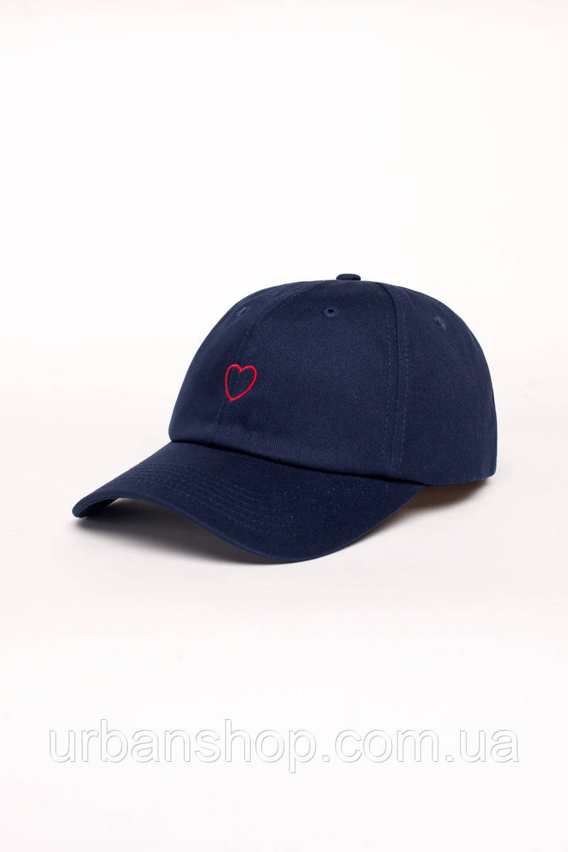 Кепка Dad hat HEART NVY Urban Planet UP-0-0-0-36