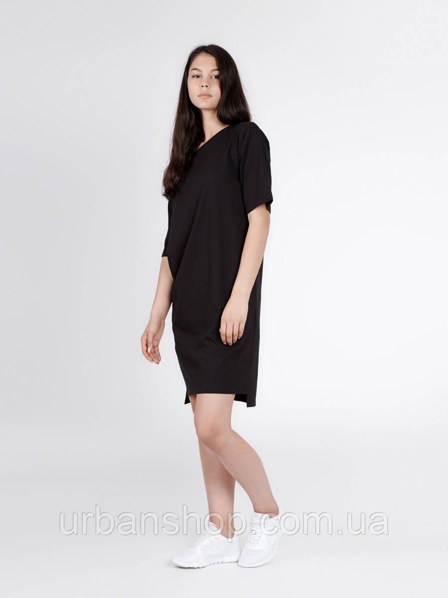 Платье BLK DRESS Urban Planet XXL 100% котон Черный UP 1-1-1-1-01