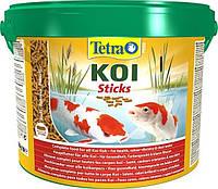 Tetra Pond Koi Sticks корм для карпов кои в палочках, 10 л