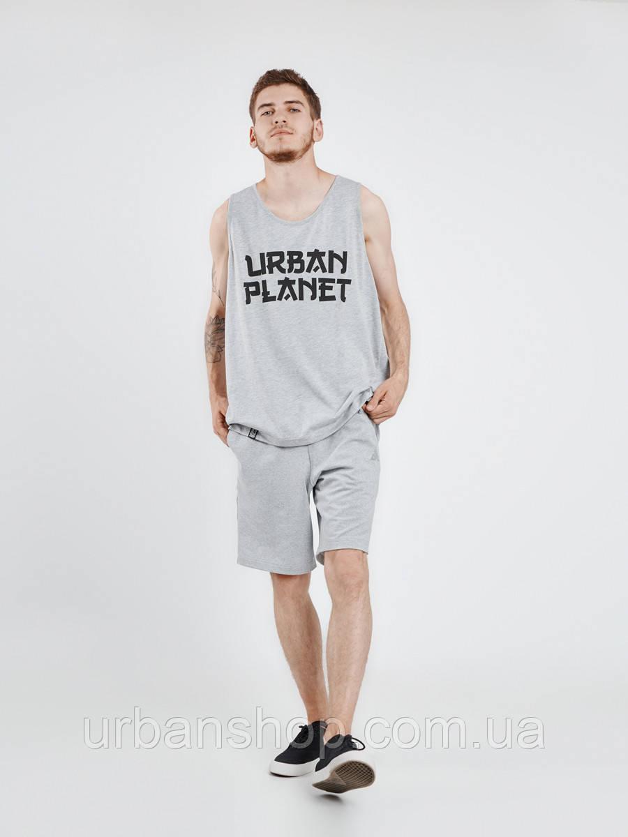 Майка JPN MEL Urban Planet M 100% котон Меланж UP 3-6-0-11