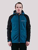 Куртка WM7 SOFTSHELL BLACK/DEEP Urban Planet L 100% поліестер Black/deep UP 2-1-1-49, фото 1