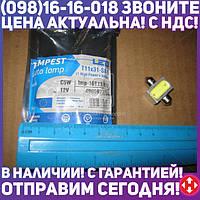 ⭐⭐⭐⭐⭐ Лампа LED софитная C5W 12V T11x31-S8.5 1SMDx3chips Mega-LED WHITE <TEMPEST>  tmp-16T11-12V