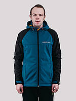 Куртка WM7 SOFTSHELL BLACK/DEEP Urban Planet M 100% поліестер Black/deep UP 2-1-1-49, фото 1