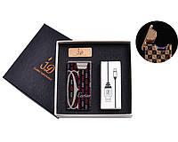 USB зажигалка в подарочной упаковке (Электроимпульсная)