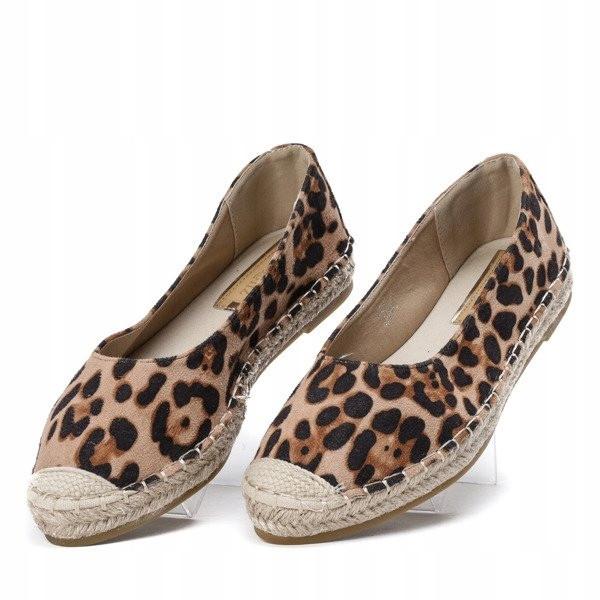 Леопардовые женские балетки