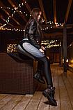 """Лосины Bona Fide: Christina Aguilera """"Black & Mint"""" S, фото 2"""