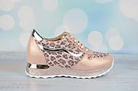 Модные женские кроссовки на платформе Alpino